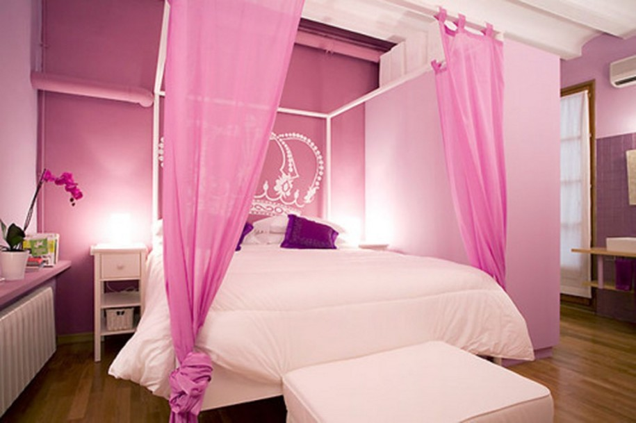 Princess Room : what color was your room growing up the color pink dominated my room i ...